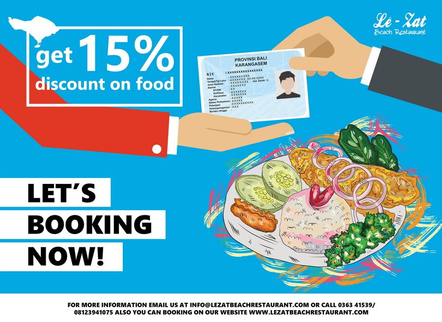 Ashyana Candidasa Resort Ktp Bali Food Discount